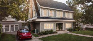 Tesla rooftop.